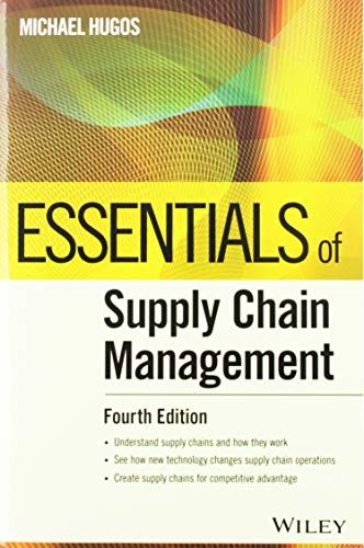 Essentials of Supply Chain Management (Essentials -