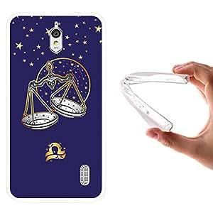 Funda Huawei Y625, WoowCase [ Huawei Y625 ] Funda Silicona Gel Flexible Horóscopo Signo del Zodiaco Libra, Carcasa Case TPU Silicona - Transparente