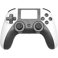 YINBO Controlador de jogos sem fio para PS4, Cabo de jogo Bluetooth para PC, Console de jogo programável de dupla…