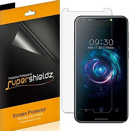 [6-Pack] Supershieldz for Alcatel (A30 Fierce) Screen Protector, High Definition Clear Shield + Lifetime Replacement