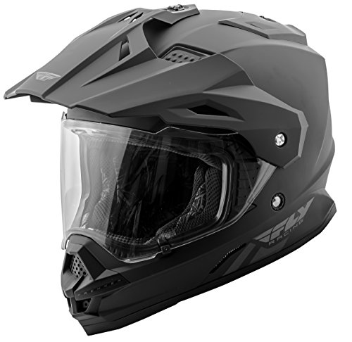 Fly Racing 73-7011M Trekker Helmet (Color Matte Black, Size Medium)