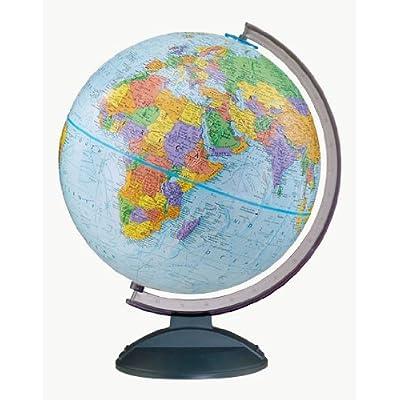 Replogle Globes Traveler Globe, 12-Inch, Blue: Home & Kitchen