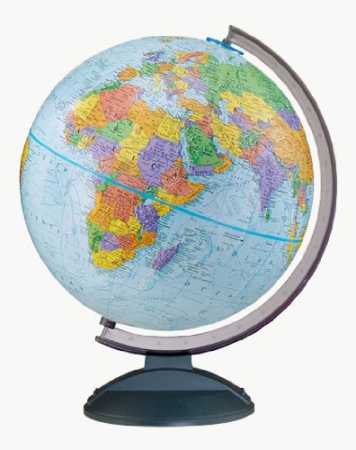 Amazon replogle globes traveler globe 12 inch blue home replogle globes traveler globe 12 inch blue gumiabroncs Choice Image