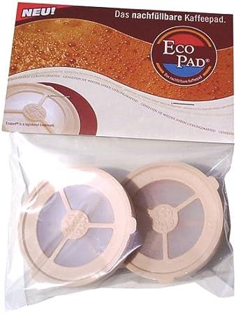 Eco Pad - Soportes monodosis para rellenar con café para cafeteras Senseo: Amazon.es: Hogar