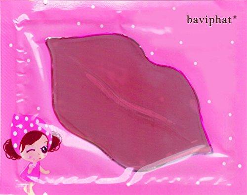 Baviphat® - 10 x Pink Woman Lippenpads - Beautytrend 2016 - Lippenpad mit Hyaluronsäure und Collagen für mehr Lippenvolumen gegen trockene Lippen - Lippenpads Aufpolsterung - Volume Booster - Pflegestifte & Lippenbalsam - Anti Falten / Aging Lippenpflege - Feuchtigkeit für Ihre Lippen / Lips