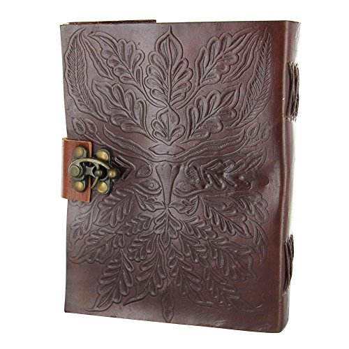 Rediscovering Green Man's Renaissance Personal Leather Writing Journal