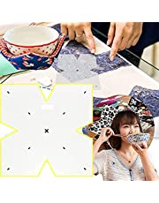 Bowl Cozy Template for Sewing,Bowl Cozy Pattern Template Sewing Cutting Ruler,12/10/8inch Bowl Wrap Sewing Pattern Template Quilting Template