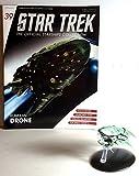 #39 Star Trek Romulan Drone Die Cast Metal Ship-UK/Eaglemoss w Magazine