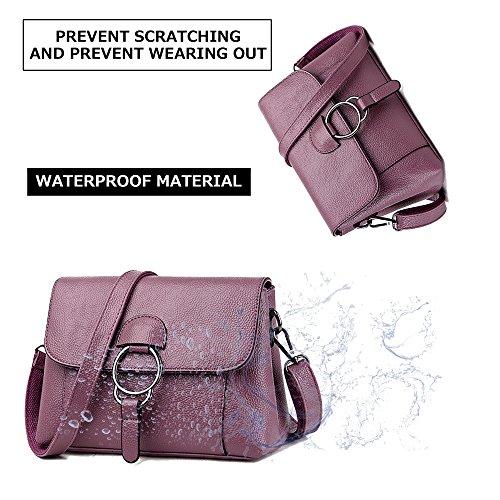 JACVAAP Violet Noir B Sac l'épaule porter à femme JVPS2019 à Noir pour rrwPAqxa