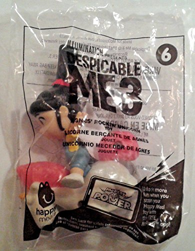 Used, McDonalds ~ DESPICABLE ME 3 (Minions) #6 ~ AGNES' ROCKIN' for sale  Delivered anywhere in USA