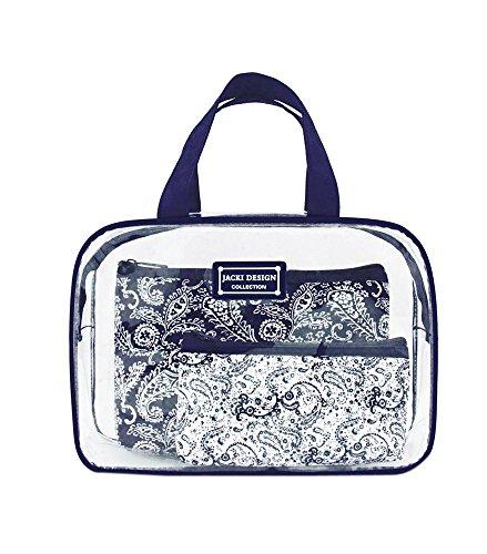 jacki-design-ahl15023bu-mystique-3-piece-cosmetic-bag-set-blue