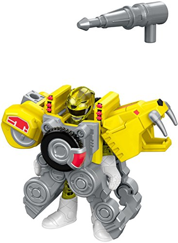 Fisher-Price Imaginext Power Rangers Battle Armor Yellow Ranger