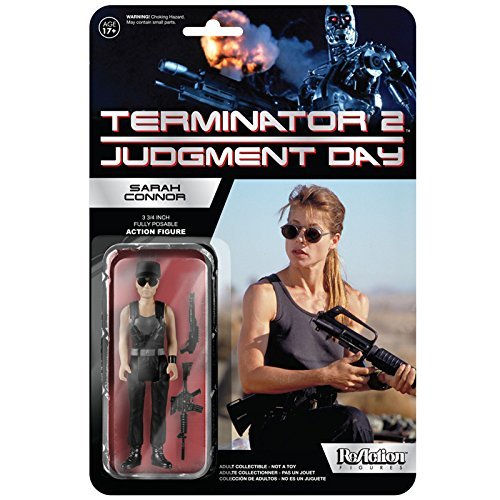 Re-Action Terminator 2 Series 1 Sarah Connor 3.75 inches plastic painted action figure