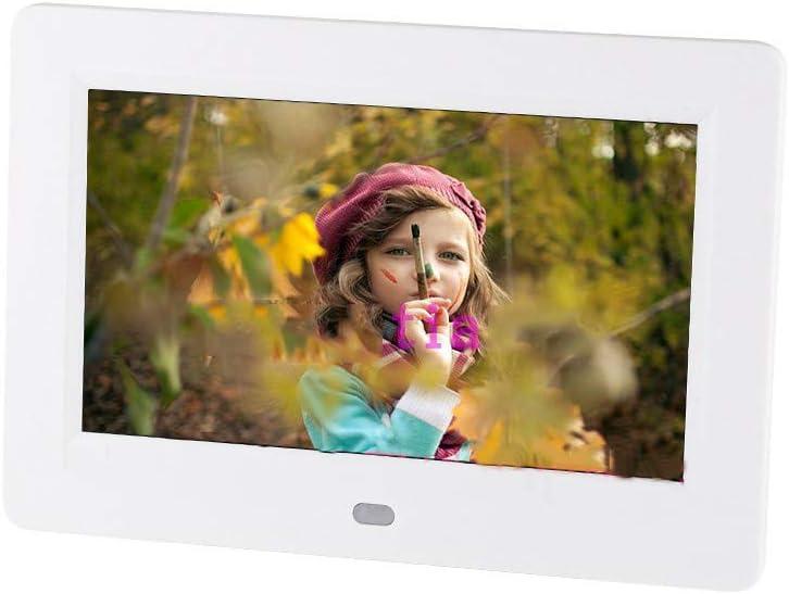 Digital Photo Frames WANGTX Narrow Side 7 inch 810 Lithium Battery Electronic Photo Frame HD Video Photo Music Loop Player