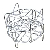 Blesiya Egg Steamer Rack for Instant Pot Stainless Steel Steamer Rack Basket Stand, kitchen Cooker Accessories - 2 Layers B