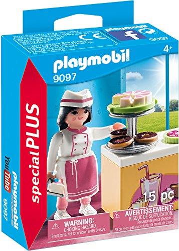PLAYMOBIL® Pastry Chef Building Set