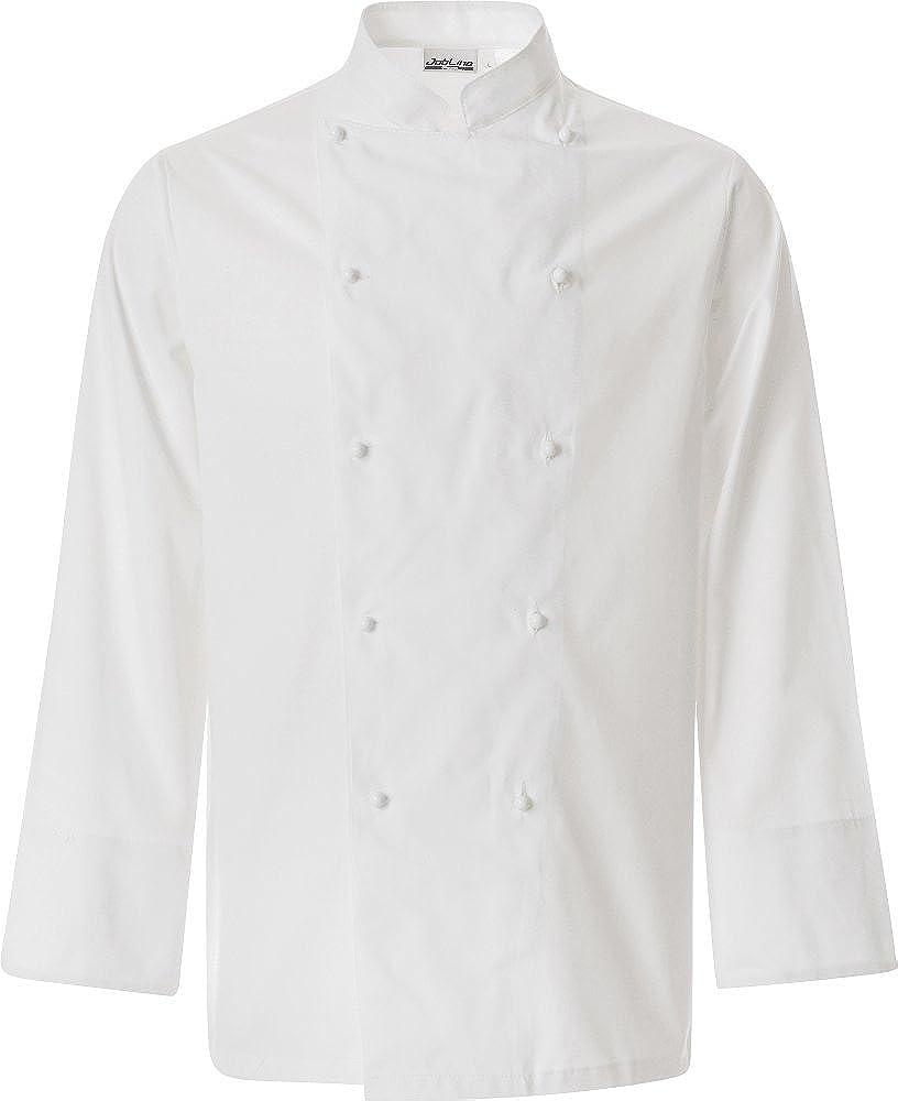 Nanxson Veste//Blouse Blanche Manches Longues pour Cuisinier Serveur CFM0001 Blanc,XXL