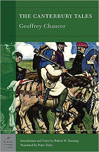 Book The Canterbury Tales (Barnes & Noble Classics)