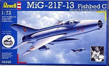 Revell 4346 - Maqueta de avión MiG-21 F-13: Amazon.es ...