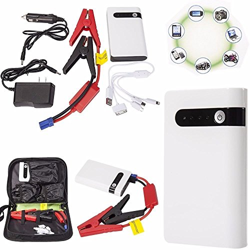 Portable Mini Slim 20000mAh Car Jump Starter Engine Battery Charger Power Bank H (Starter Jump Mini)