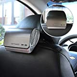 Car Air Purifier and Ionizer - Car Air Freshener with HEPA Filter, Odor Eliminators, Ionizer, Activated Charcoal Prefilter and Aromatherapy Essential Oil Diffuser - Powerful Dust Smell Smoke Remover