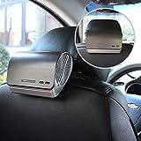 Car Air Purifier Ionizer Car Air Freshener with HEPA Filter Odor Eliminators Absorber
