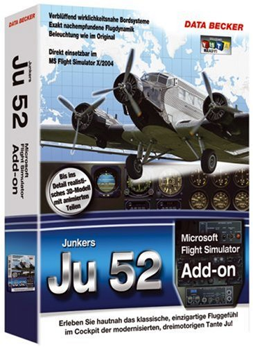 Flight Simulator 2004 - Junkers Ju-52 (Junkers 52 Ju)