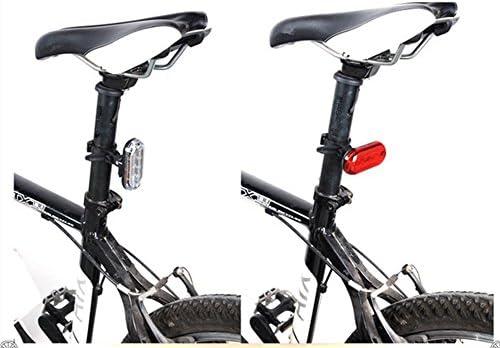 Montaña bicicleta trasero luz seguridad montando bicicleta ...
