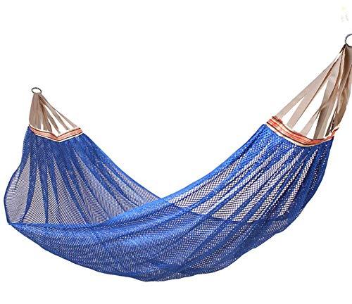 2019 New Ice Silk Lightweight Camping Hammock,Portable Double Mayan hammock heavy duty Hammock,Outdoor & Indoor Portable Hammock with Tree Straps,Travel Mesh Ice Silk Breathable Double Hammock