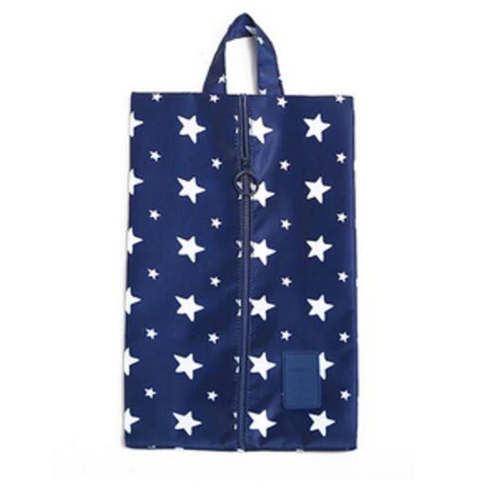 DRAGON SONIC Portable Travel Shoe Bags Dust-proof Shoe Storage Bags 2Pcs 13.47.8inches #1