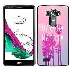 Dragon Case - FOR LG G4 - Fall in love at first sigh - Caja protectora de pl??stico duro de la cubierta Dise?¡Ào Slim Fit