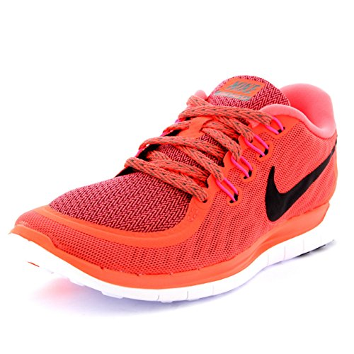0 5 Wmns Nike Orange Grey Donna Scarpe Sportive Black Free Hot Lava Tumbled U6AnqwR