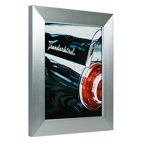 Craig Frames Silverado, Modern Silver Picture Frame, 18 by 24-Inch by Craig Frames