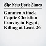 Gunmen Attack Coptic Christian Convoy in Egypt, Killing at Least 26 | Declan Walsh,Nour Youssef