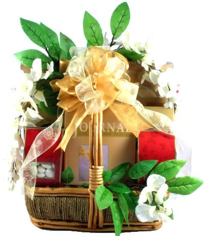 Gift Basket Village Peace and Serenity Sympathy Gift Basket, Large