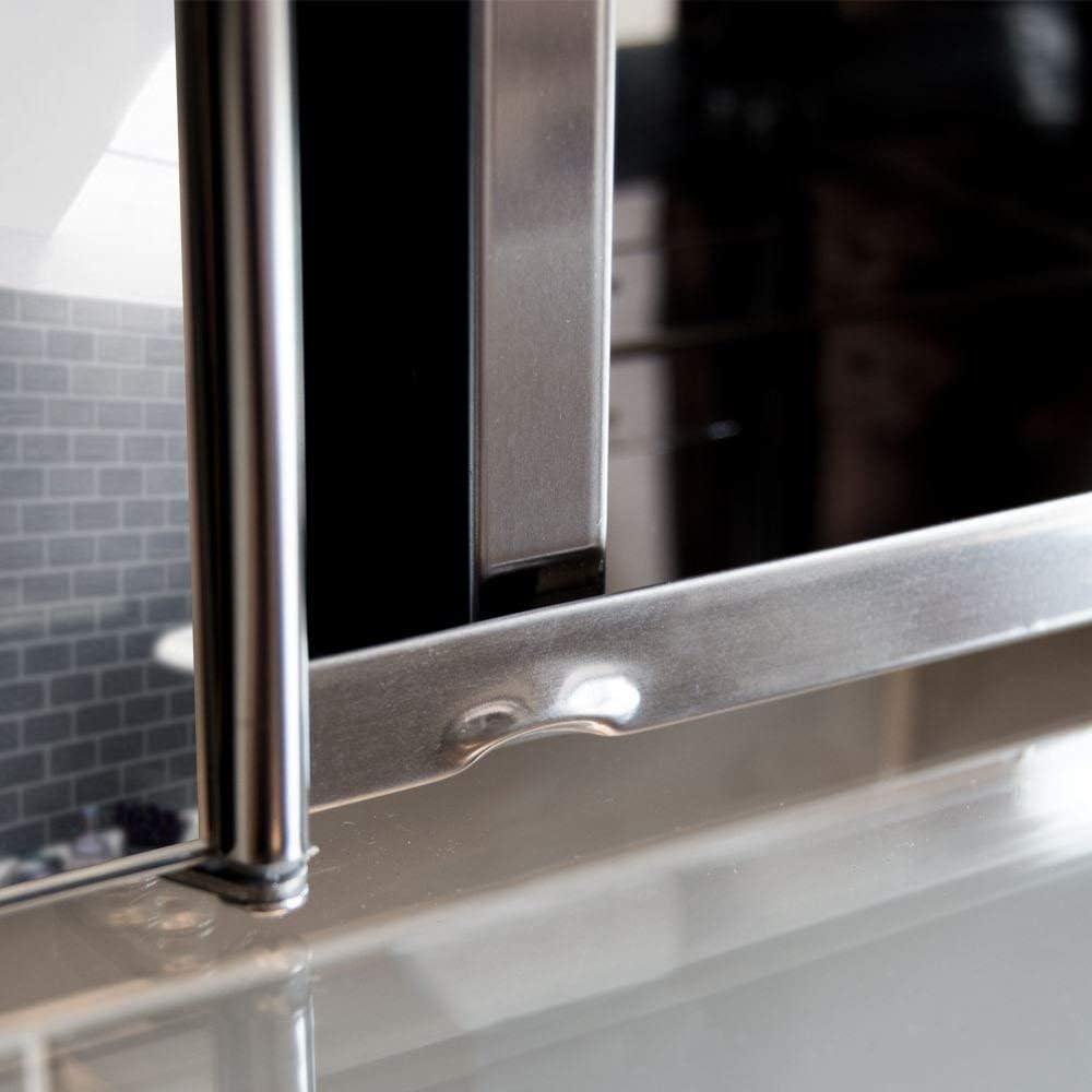 aus Edelstahl Wandmontage Bath Vida Tiano Badezimmerschrank mit Spiegel Schrank