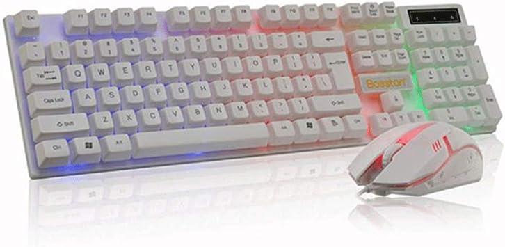 KINGXX-01 Pack de Teclado y ratón inalámbricos Suspendido ...