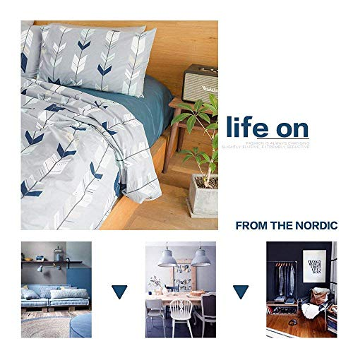 VClife Cotton Bedding Sets Arrow Duvet Cover Sets