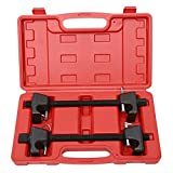 Heavy Duty Coil Spring Compressor Macpherson Strut Remover Installer Replace Repair Tool Auto Suspension Kit- Pair