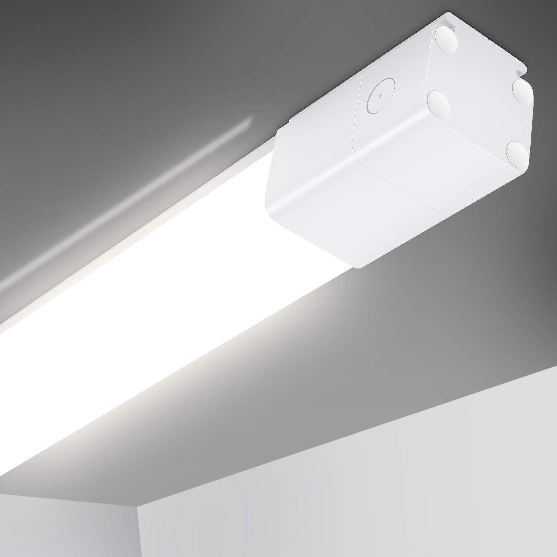 10-40W LED Wannenleuchte Feuchtraumlampe Deckenleuchte Werkstatt Keller Röhre