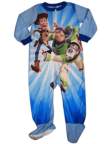 Toy Story - Baby Boys Toy Story Blanket Sleeper, Light Blue 33852-18Months