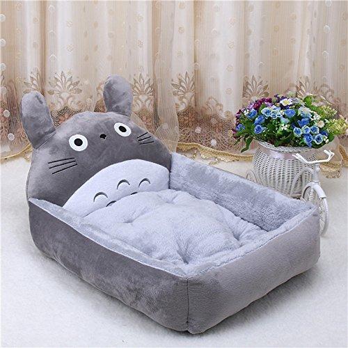 Dog Cushion - Cute Pet Dog Bed Mats Animal Cartoon Shaped Pet Sofa Kennels PP Cotton Warm Cat House Dog Pad Teddy Mats Big Blanket Supplies