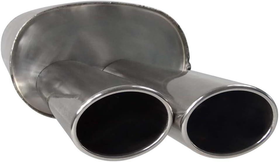 SUPERSPORT Stahl Endschalld/ämpfer MERCEDES BENZ C-Klasse I Limo W202 C180,C200,C200 Kompressor,C220,C230,C230 Kompressor,C240,C200D,C200CDI,C220,220CDI,C250,C250 TurboD Otto 89,90,95,100,110,120,125,132,141,142,145KW Diesel 55,65,70,75,83,9 en Typ