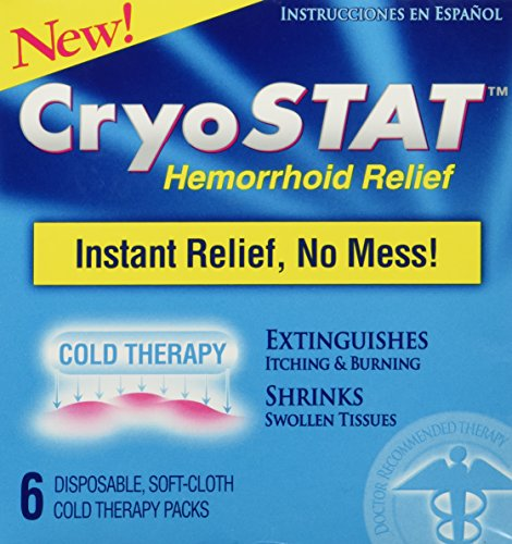 CryoStat Hemorrhoid Relief disposable therapy product image