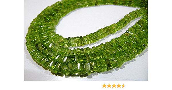 60/% OFF AAA Quality Natural Peridot Smooth Button Beads Size 3 MM 13 inch strand approx