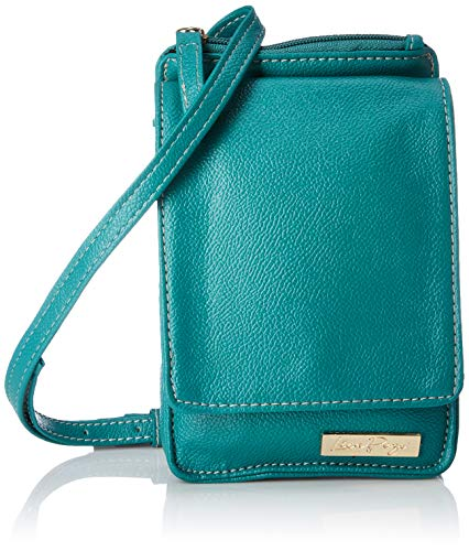 Lica Pezo Czech Women's Mobile Sling Bag (Turquoise)