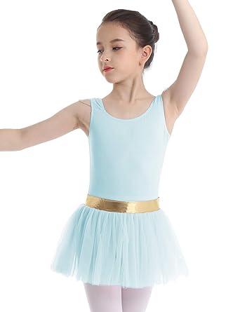 MSemis Vestido Tutú de Danza Ballet para Niñas Maillot ...