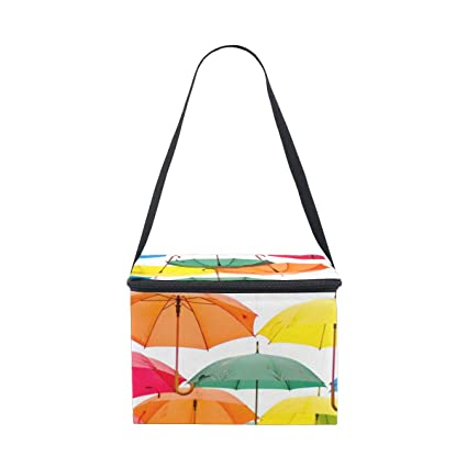 0277eb3c10e0 Amazon.com: D.Sword Hanging Colorful Umbrella Lunch Bags for Women ...