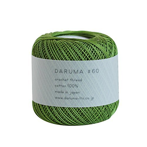 Lace thread Dharma lace thread # 60 10 g 125 m Col.8 3 ball set by Yokota