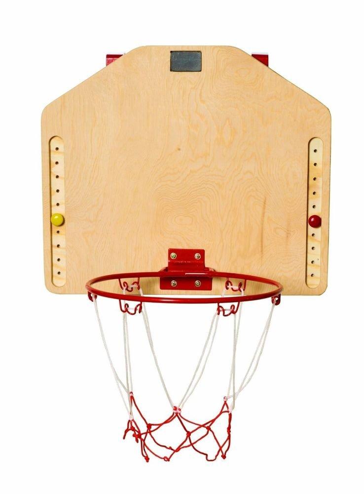 Red Tool Box Basketball Hoop